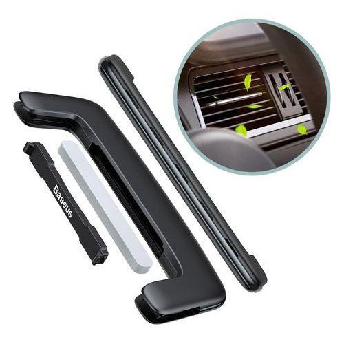 Baseus Paddle ultracienki odświeżacz powietrza zapach samochodowy na kratkę wentylacyjną nawiew czarny (SUXUN-BP01), 48979 (11837085)