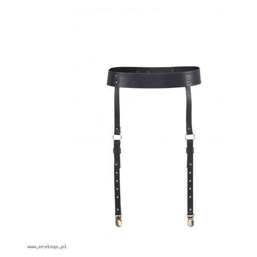 Bijoux Indiscrets - MAZE Suspender Belt Black - produkt z kategorii- Gadżety erotyczne