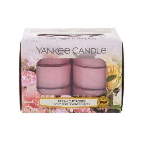 Yankee candle fresh cut roses świeczka zapachowa 117,6 g unisex