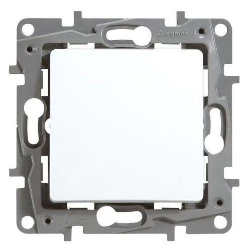 Przycisk zwierny niloe 764522 podświetlany pojedynczy z lampką led 230v biały marki Legrand