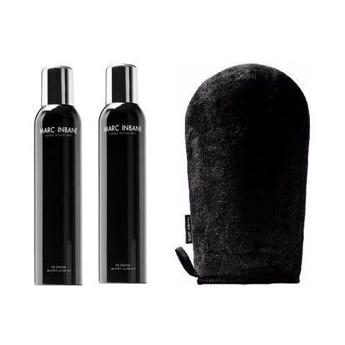 Marc Inbane Natural Tanning | Zestaw: spray samoopalający 2x200ml + rękawiczka do rozprowadzania samoopalacza