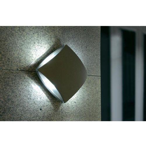 Lampa ścienna zewnętrzna LED ECO-Light 1869 gr, 4x3 W, LED wbudowany na stałe, IP54, (DxSxW) 20 x 20 x 7.8 cm (4250294304223)