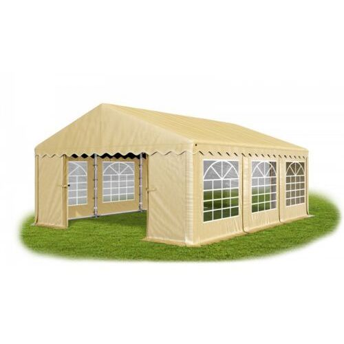 4x6x2m, solidny namiot bankietowy, imprezowy, ogrodowy, konstrukcja winter/pe 24m2 marki Das company