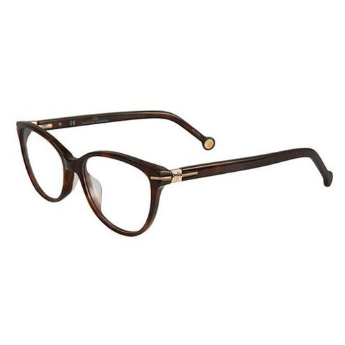 Okulary korekcyjne vhe660 09xk marki Carolina herrera