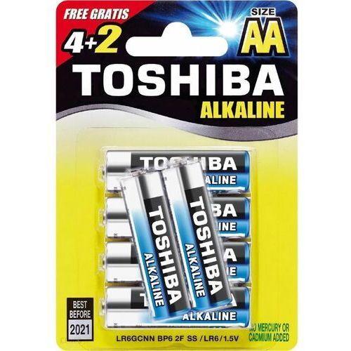Baterie alkaliczne lr6gcnp bp6 2f (4+2szt)- natychmiastowa wysyłka, ponad 4000 punktów odbioru! marki Toshiba