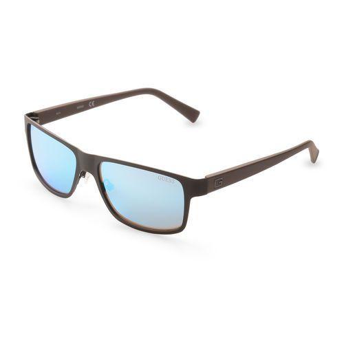 Okulary przeciwsłoneczne męskie - gu6814-69 marki Guess