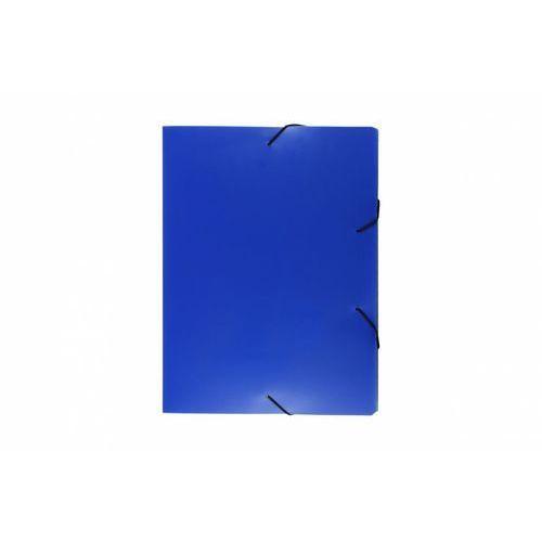 Biurfol Teczka skrzydłowa z gumką tg-03-03 niebieska