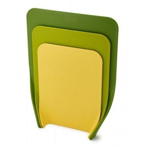 JJ - Zestaw 3 desek do krojenia, zielonych, Nest™ (5028420601213)