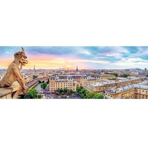 Puzzle TREFL 29029 Panorama Widok z katedry Notre-Dame (1000 elementów)