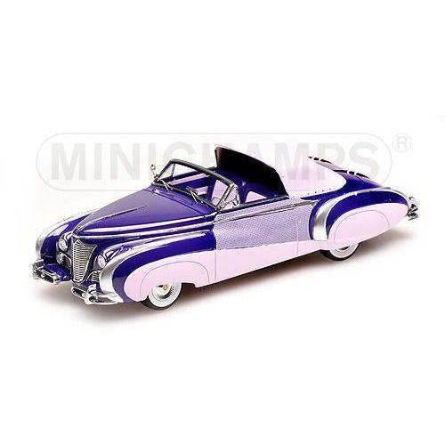 Minichamps Cadillac serie 62 cabriolet coach builder jaques saoutchik 1948 - darmowa dostawa! (4012138124509)
