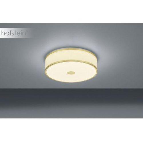 Trio agento lampa sufitowa led mosiądz, biały, 1-punktowy - nowoczesny/vintage - obszar wewnętrzny - agento - czas dostawy: od 3-6 dni roboczych (4017807401134)