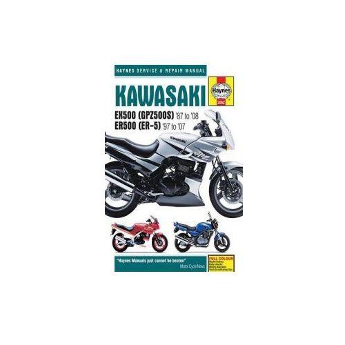 Kawasaki EX500 (GPZ500s) & ER500 (ER-5) Motorcycle Service a