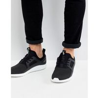 Polo ralph lauren performance train 150 trainers mesh neoprene mix in black - black