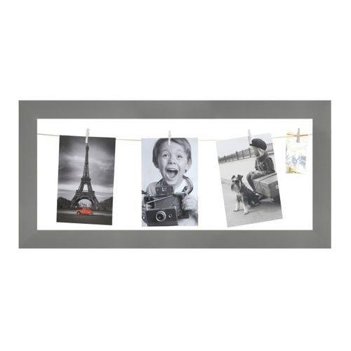 Galeria na zdjęcia 20 x 50 cm sznurkowa szara, GALERIA171 SZ