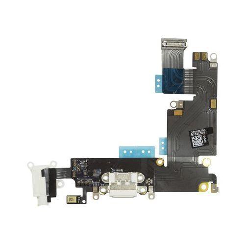 """Złącze Gniazdo Ładowania Lightning Mikrofon HF Audio iPhone 6 Plus 5,5"""" (Biały)"""