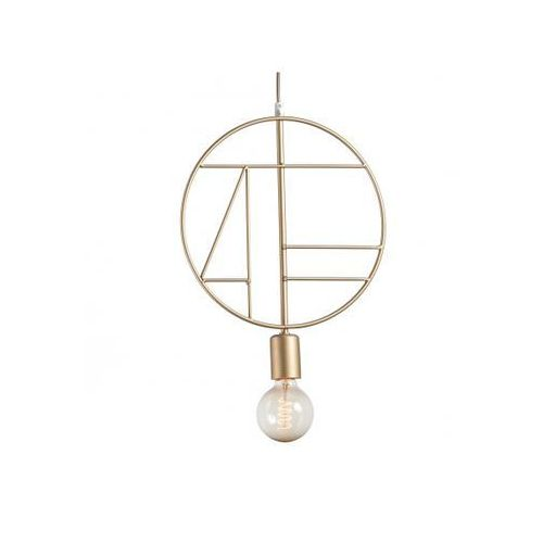 Lampa wisząca korsyka z-1 gold 3905 marki Namat