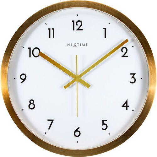 Zegar ścienny 2523 GW Arabic śr. 44cm Nextime (8717713017820)
