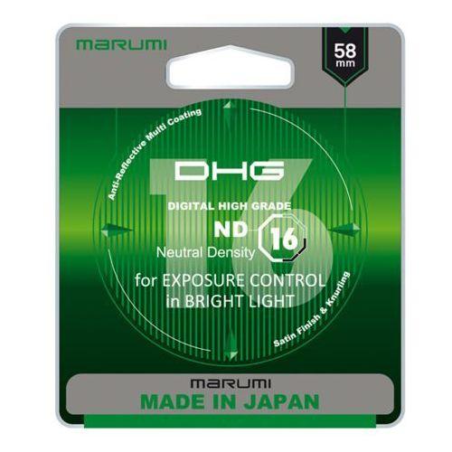 Marumi dhg nd16 filtr fotograficzny szary 58mm