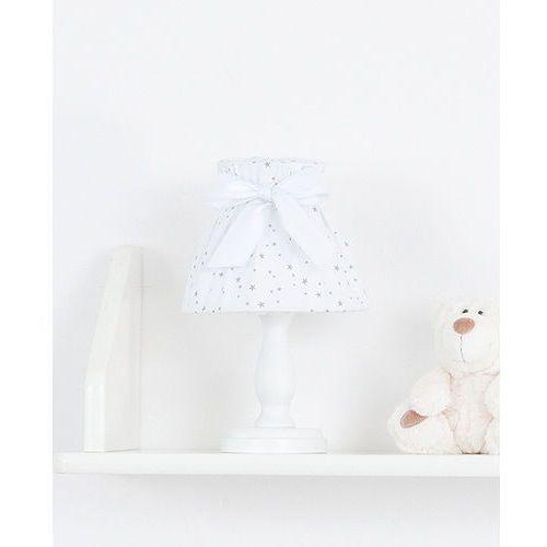 lampka nocna mini gwiazdki szare na bieli marki Mamo-tato