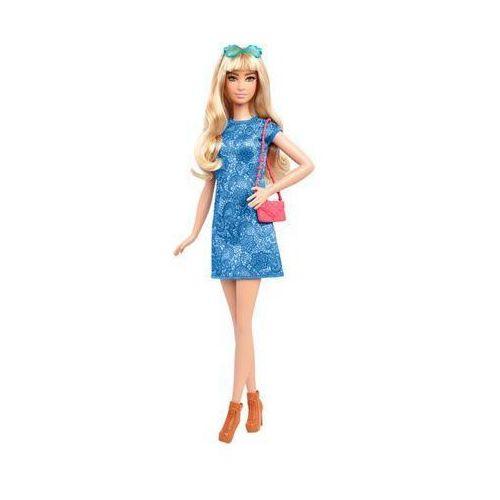 BARBIE DTF06 Fashionistas 43 Lacey Blue Doll & Fashion Lalka z ubrankami 3+