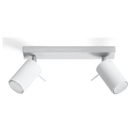 Sollux - plafon ring 2 - biały