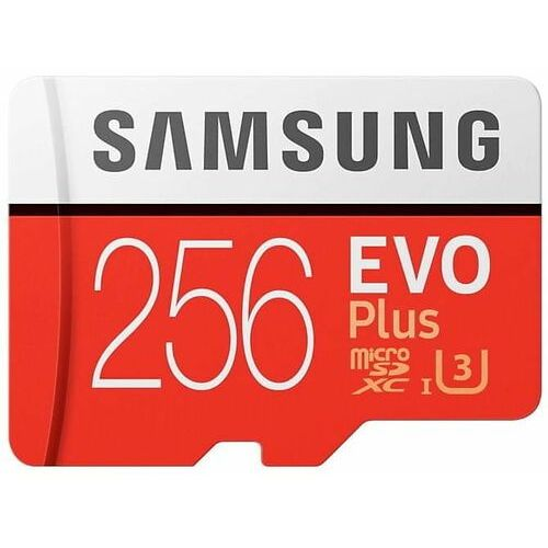 Karta pamięci SAMSUNG EVO Plus 256GB MicroSD MB-MC256HA/EU + adapter SD, 1_731664