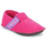 Obuwie domowe Crocs CLASSIC SLIPPER K, kolor różowy