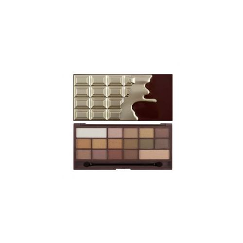 Makeup Revolution I Heart Makeup Golden Bar, paleta cieni do powiek