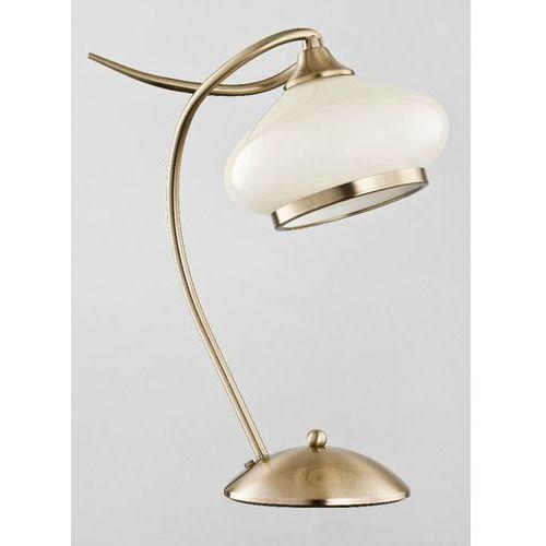 Lampka stołowa Alfa Idalia 24478 1x60W E27 złota/ecru (5900458244788)