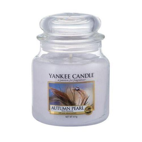 Yankee candle autumn pearl świeczka zapachowa 411 g unisex (5038581047485)
