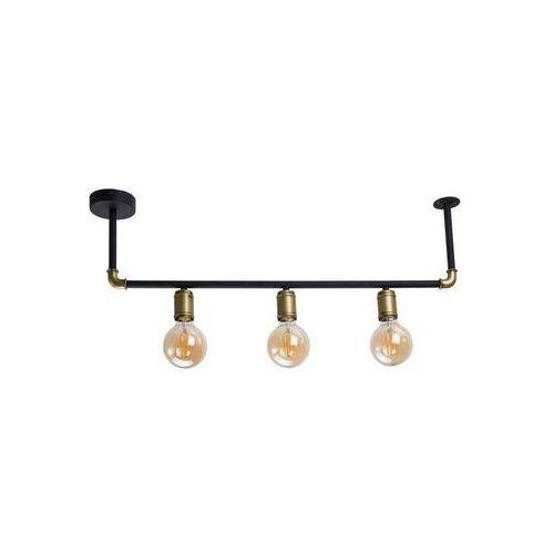 TK Lighting 4147 - Żyrandol natynkowy HYDRIA 3xE27/60W/230V, kolor Czarny,