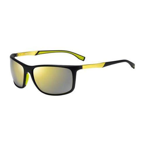 Okulary Słoneczne Boss by Hugo Boss Boss 0707/P/S Polarized MOP/C4, kolor żółty