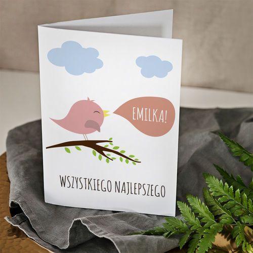 Mygiftdna Wszystkiego najlepszego dziewczynka - kartka z życzeniami - kartka z życzeniami