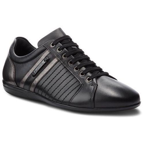 Sneakersy VERSACE COLLECTION - V900421 VM00377 V967C Nero/Grigio/Scuro/Fdo, kolor czarny