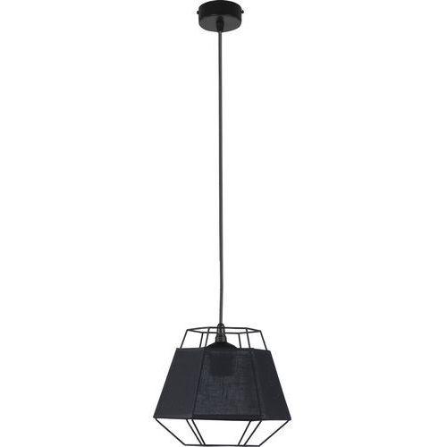 Lampa wisząca druciana zwis żyrandol diament tk lighting cristal 1x60w e27 czarna 1805 marki Tklighting