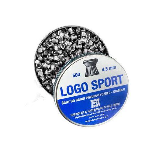 Śrut 4,5mm Diabolo Logo Sport płaski 500 szt H&N