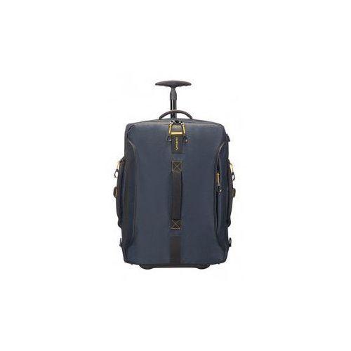 torba miękka kołach 55 cm cabin size kolekcja paradiver light model duffle/wh materiał poliuretan/polyester/teflon marki Samsonite