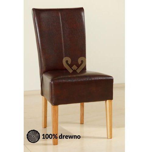 Krzesło dębowe 05br marki Woodica