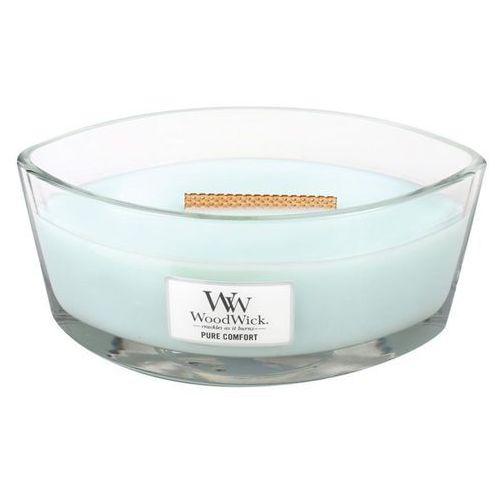 Woodwick - świeca hearthwick pure comfort 60h