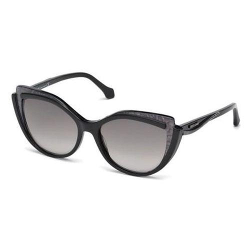Okulary Słoneczne Roberto Cavalli RC 1052 CINIGNANO 05B, kolor żółty