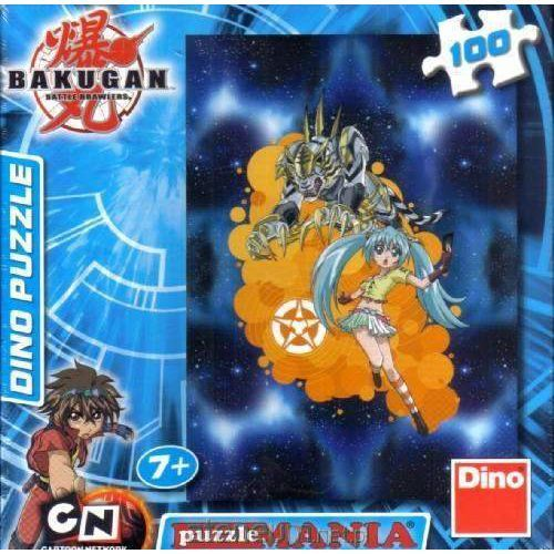 Puzzle 100 Bakugan Runo and Tige DINO