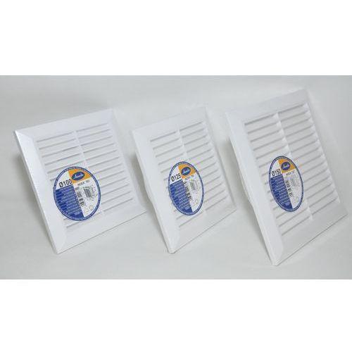 Kratka wentylacyjna pcv biała t61- fi100; t83- fi 125; t27 - fi 150mm średnica [mm]: 150 marki Awenta
