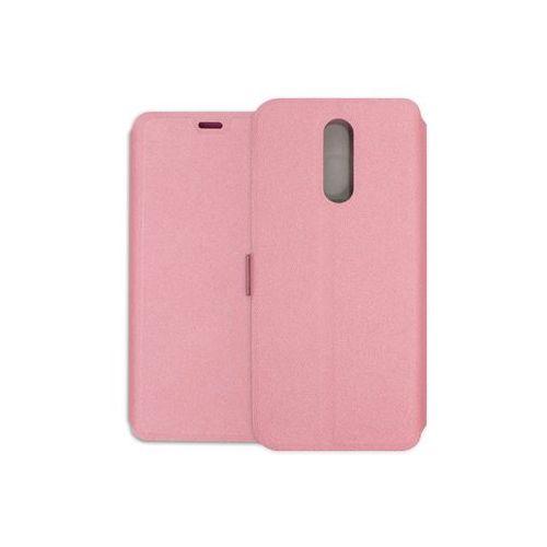 Etuo wallet book Lg k40 - etui na telefon wallet book - różowy