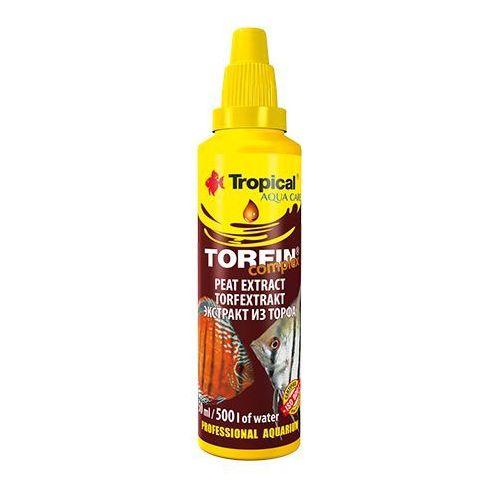 Tropical torfin - ekstrakt torfu do przygotowania czarnej wody 30ml