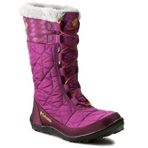 Śniegowce COLUMBIA - Youth Minx Mid II Waterproof Omni-Heat BY1336 Intense Violet/Flame Orange 519, towar z kategorii: Kozaczki dla dzieci
