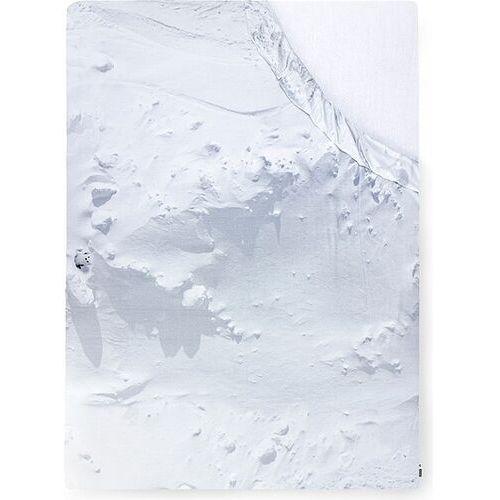 Foonka Prześcieradło z gumką hayka śnieg 140 x 200 cm