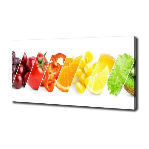 Foto obraz na płótnie Owoce i warzywa