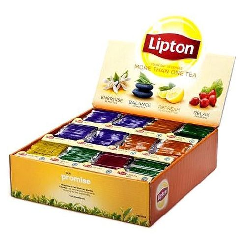 Lipton Herbata variety pack - 12 smaków x 15 saszetek