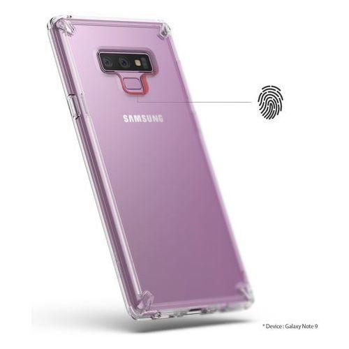 Etui Ringke Fusion Samsung Galaxy Note 9 Smoke Black - Czarny, kolor czarny