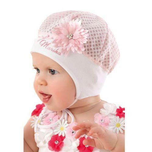 Czapka niemowlęca 5x32be marki Marika